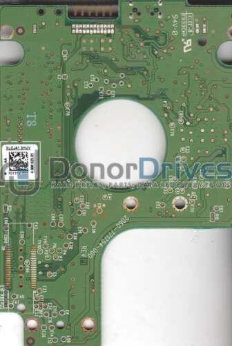 WD10TMVV-11TK7S1 WD USB 2.5 PCB 701754-500 AA