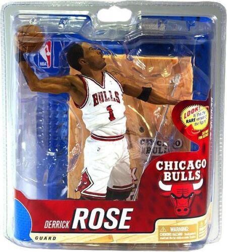 NBA Sports Picks Series 20 Derrick Rose Action Figure White Jersey