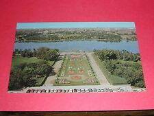 The Queen City View Of The Legislative Buidings Regina Saskatchewan Postcard