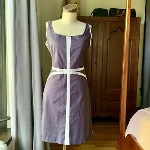 SKUNK FUNK Blue Tank Dress Cotton M