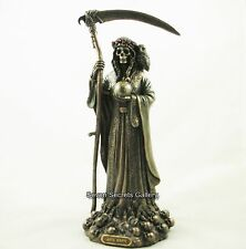 Grim Reaper Figurine | Bronzed La 'Santa Muerte' Statue | Holy Death | NEW IN