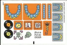 LEGO 3818 - Spongebob - Bikini Bottom Undersea Party - STICKER SHEET