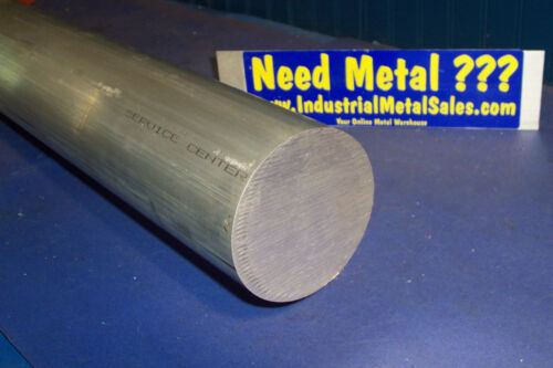 "3-1//2/"" Dia x 2/""-Long  6061 T6511 Aluminum Round Bar--/>3.5/"" Dia 6061 T6511 Rod"
