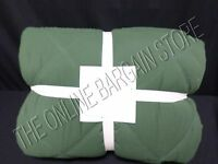 Pottery Barn Kids Pbk Dylan Diamond Bed Dorm Quilt Twin Green Solid Blanket