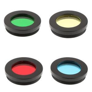 "5x 1.25/"" Telescope Color Filter Set for Celestron Eyepiece Lens Planet Moon"
