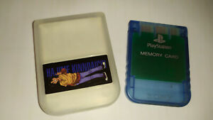 Sony-Playstation-1-PS1-Official-Memory-Card-Transparent-Blue-SCPH-1020-Japan