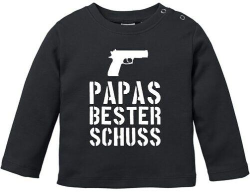 Baby Chemise manches longues Papas meilleur Comité Babyshirt jeunes filles shirt moonworks ®