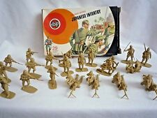 VINTAGE AIRFIX 1970'S 1:32 SCALE 28 JAPANESE INFANTRY IN ORIGINAL BOX