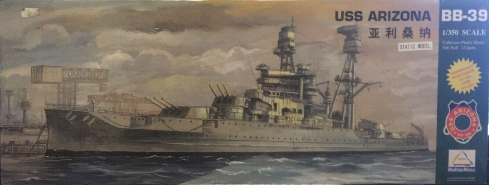 Mini Hoby Models USS Arizona BB-38 Ref 80607 Escala 1 350
