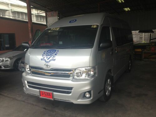 FOR TOYOTA HIACE COMMUTER 2011-2013 CHROME LH+RH SIDE FRONT CORNER COVER