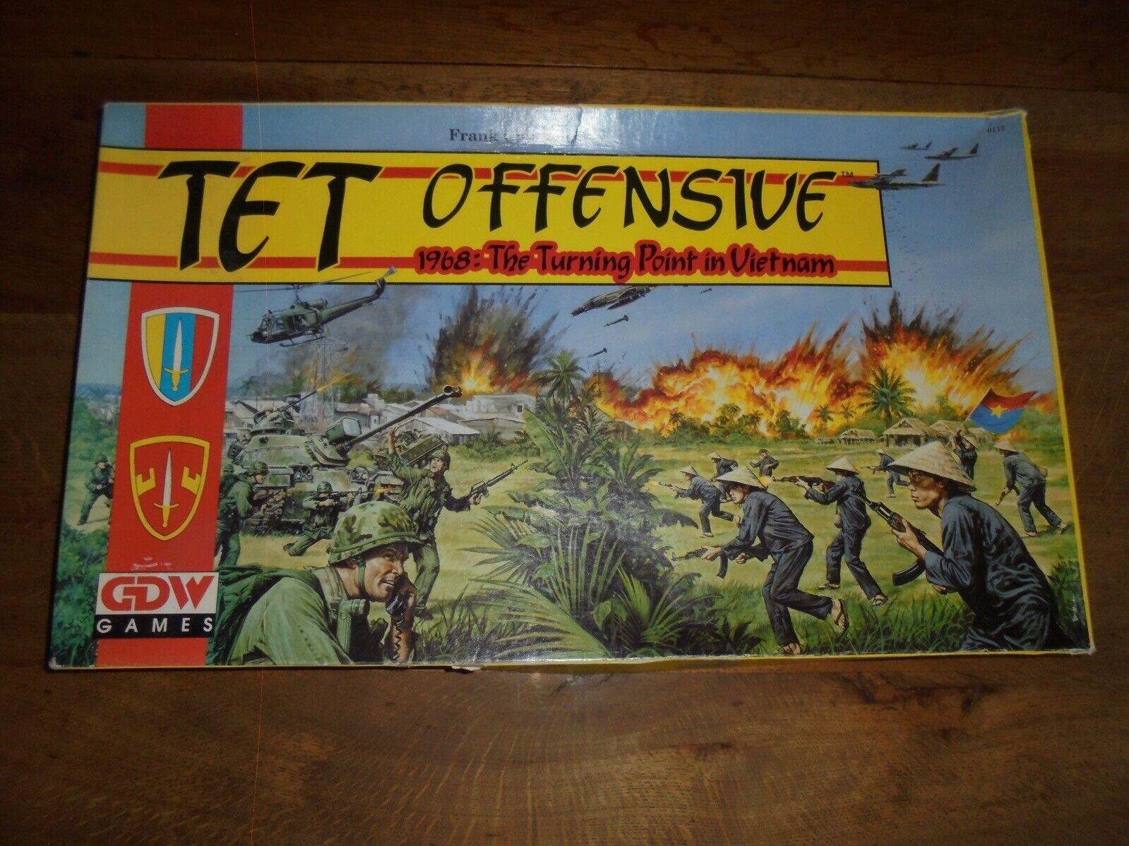 TET Offensive Board Game 1968 The  Turning Point in Vietnam Combat Battle Game  en ligne pas cher