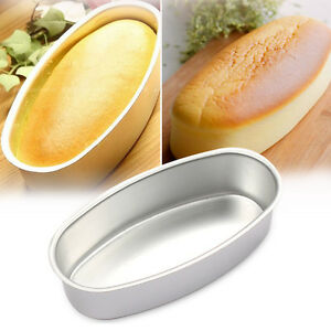 Oval Shaped Diy Cheese Cake Mold Non Stick Home Kitchen