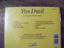 Yves DUTEIL, la langue de chez nous, jonathan, la ligne de vie, fany...