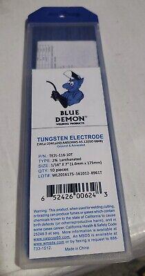 """EWLa-1 X 3//32/"""" 1.5/% lanthanated tungsten electrodes Blue Demon TIG 10 pack"""