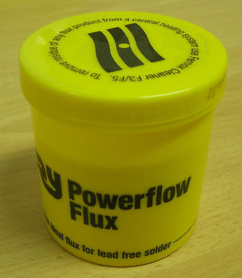 POWERFLOW FLUX THE IDEAL FLUX FOR LEAD FREE SOLDER