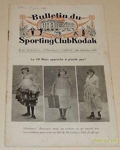 RARE-N-14-du-BULLETIN-du-SPORTING-Club-KODAK-1924-1925-G-EASTMAN