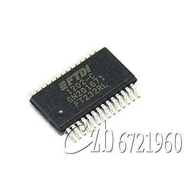 10PCS FTDI FT232 FT232RL USB TO SERIAL UART SSOP-28 IC