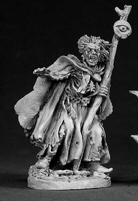 Tobias Spectre Reaper Miniatures Dark Heaven Legends Undead Necromancer Caster