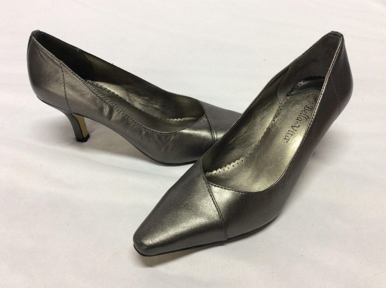 Bella Vita damen Pumps schuhe,Bridal,Retail  110 Silber, Größe 8 N ...WD1