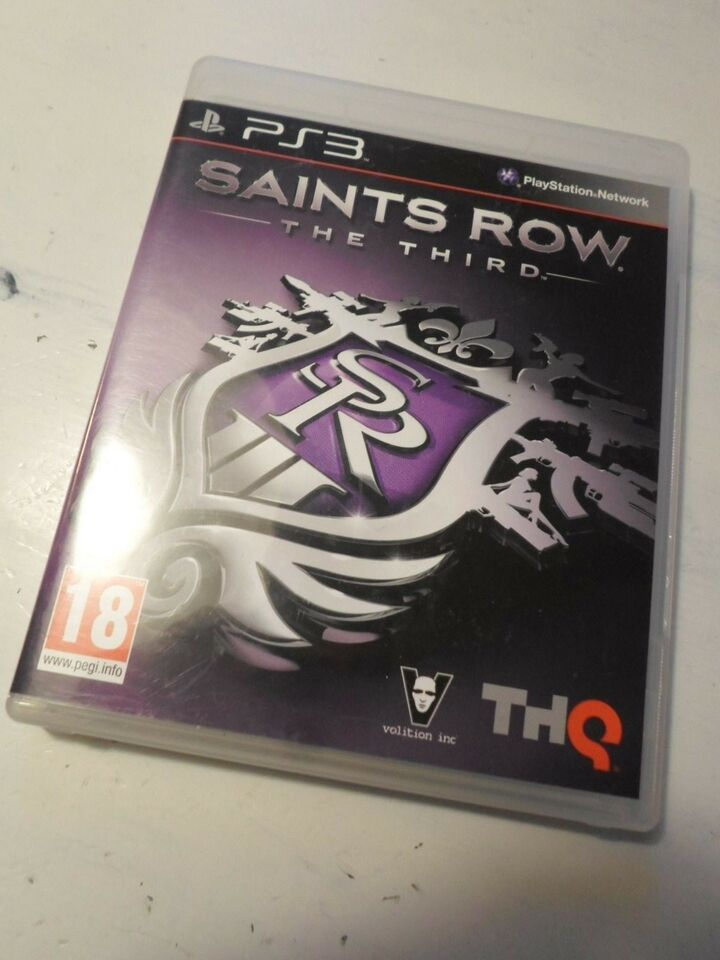 Saints Row The Third, PS3