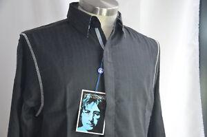 English-Laundry-Mens-Shirt-John-Lennon-Imagine-Art-Inspired-Black-MED-NEW-NWT-n3