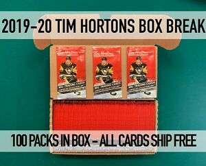 90-GONE-100-PACKS-19-20-TIM-HORTONS-Random-teams-All-cards-ship-Free-shipping