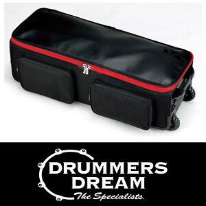 Brand-New-Tama-POWERPAD-Large-Hardware-Bag-PBH05-With-Wheels-Heavy-Duty-nylon