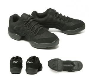 Ds24 Reino 3 Capezio 5 de Rock con suela Zapatillas de Unido negras It dividida baile fpqv8F
