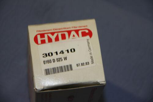 Hydac Filterelement Filter 301410 0160D025W OVP NEU