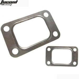 10PC-T3-T34-T35-T38-GT35-GT35R-Turbo-Turbine-Inlet-Manifold-Gasket-304-Stainless