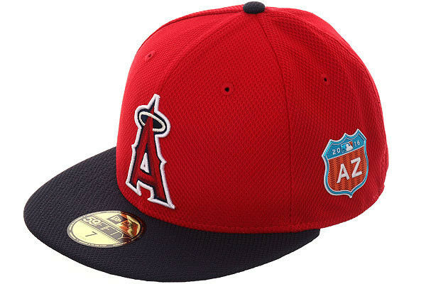 a52434f8 Official MLB 2016 Spring Training Los Angeles Angels Anaheim New Era  59FIFTY Hat