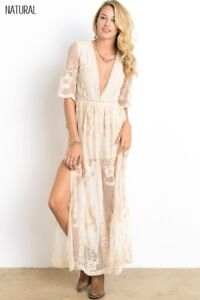 Long Boho Dresses