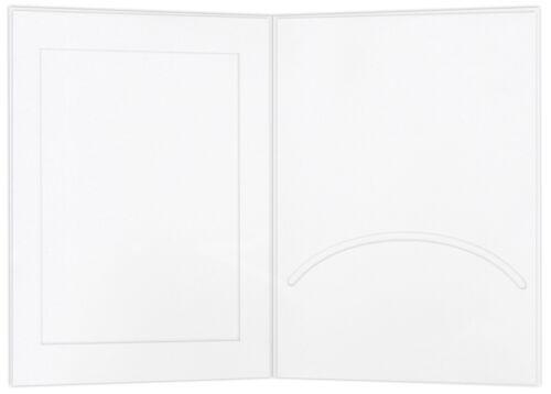 10x15 WS Portraitmappen//leporellos//bildmappen Schoeller /& stanzwerk 100 unidades