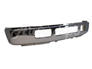 For 2005-2007 Super Duty F250 F350 Front Bumper Primed Black W//O Flare Hole