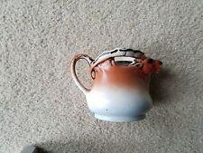 Vintage ELK MOOSE DEER Head Ceramic Creamer Pitcher Antlers CZECHOSLOVAKIA 1940s
