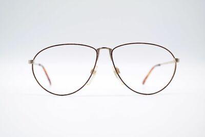 Attivo Vintage Nigura 853 58 [] 13 135 Marrone Oro Ovale Occhiali Eyeglasses Nos-mostra Il Titolo Originale