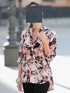 Stampato nero 48 rosa Top 0516355651 Camicetta bianco Brand 42 Ew1cvq