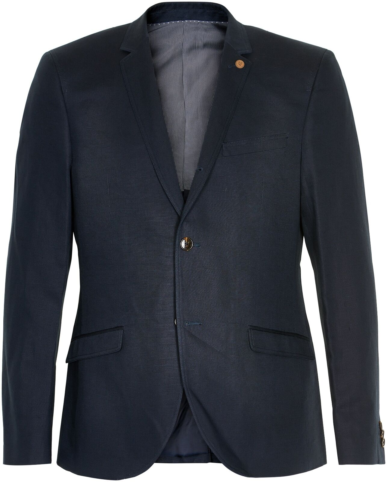 Matinique Linen/Cotton Blazer/Dark Navy - UK38/EU48 WAS