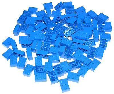 Baukästen & Konstruktion Spielzeug Trendmarkierung Lego Lot Of 100 Blau 2 X 3 Steine Bauklötze Stücke Teile Ausreichende Versorgung