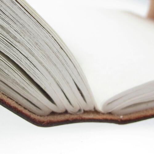 Indra Fair Trade Handgemacht Medium Geprägt Leder Tagebuch Notizbuch