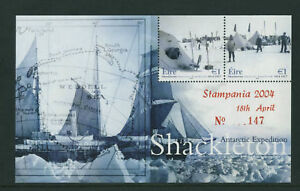 SHACKLETON-2004-DX233-STAMPANIA-EXHIBITION-MS-51-SCARCE