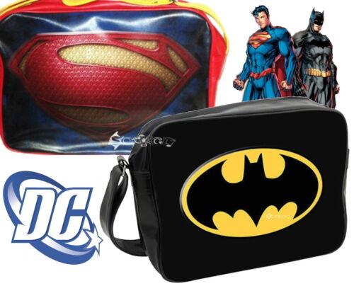 DC Comics Superman Batman Deluxe Messenger School Bag New Gift Shoulder Despatch