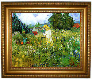 Superbe Image Is Loading Van Gogh Marguerite Gachet In The Garden Gold
