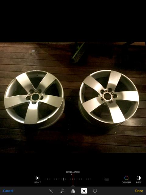 2 x Holden VE SSV Original 19x8 wheels rims not HSV 20
