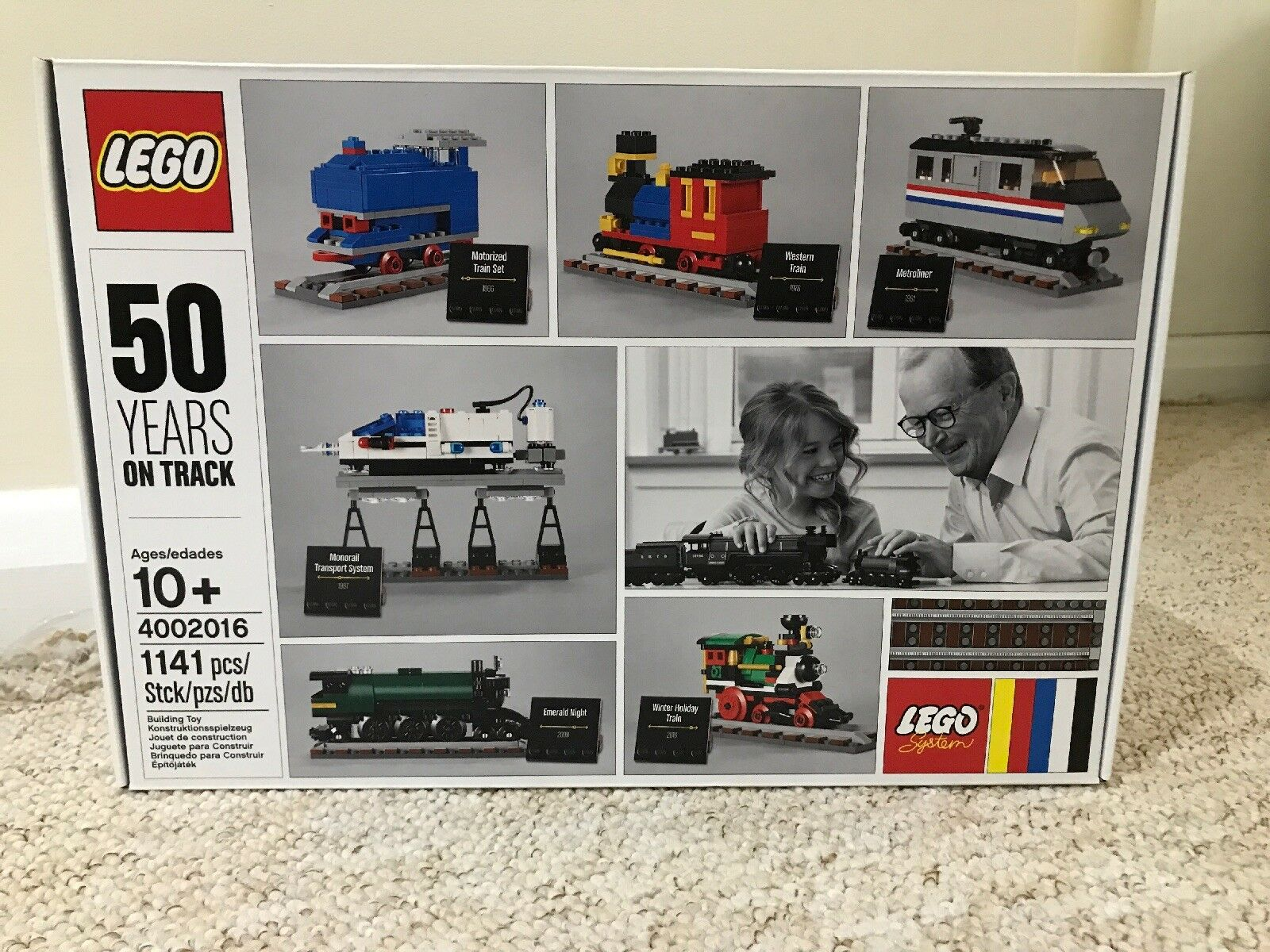 Lego 4002016 50 ans sur piste 2016 Employee gift Factory Sealed