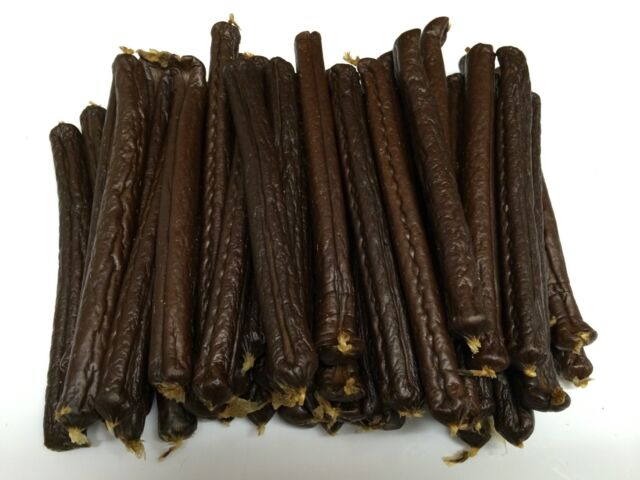 50x British Black Pudding Sticks Natural Healthy Choice Dog Training Human Grade