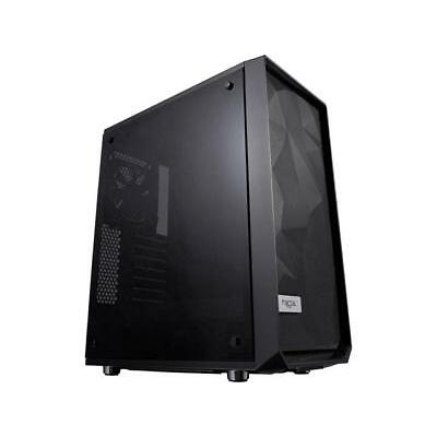 Fractal Design Meshify C - Dark TG FD-CA-MESH-C-BKO-TG Black ATX Mid Tower Compu