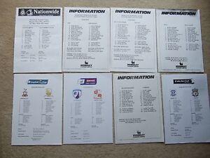 press team sheet play off final leyton orient v scunthorpe 29599 - Benfleet, United Kingdom - press team sheet play off final leyton orient v scunthorpe 29599 - Benfleet, United Kingdom