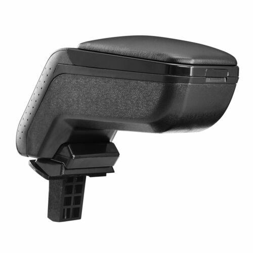 Design moyens Accoudoir Accoudoir Complet Cuir Noir Pour SEAT d/'SKODA CITIGO