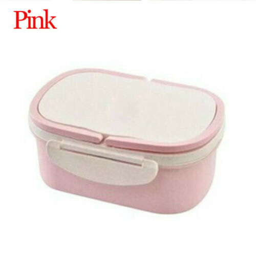 Portable Microwavable Lunchbox Picnic Food Snack Fruits Storage Bento Container
